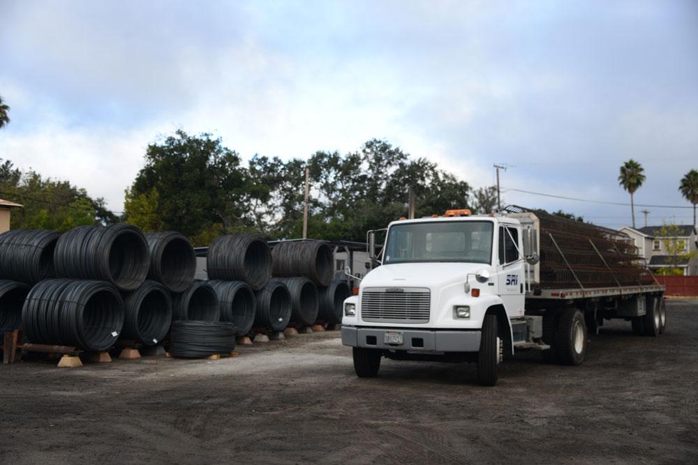 SRI truck and coil