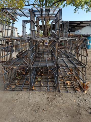 Square  pier cages