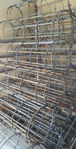 Stock street light standard cages